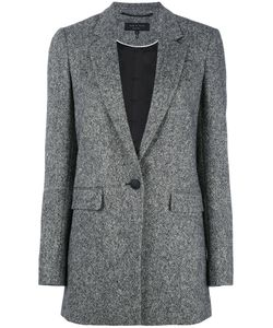 Rag & Bone | Single-Button Blazer 4 Cupro/Virgin Wool/Spandex/Elastane