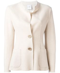 Agnona | Buttoned Fitted Jacket 40 Cashmere/Polyamide