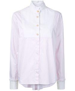 Macgraw | High Neck Striped Shirt