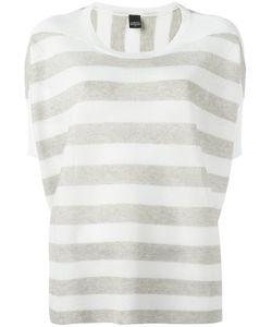 Lorena Antoniazzi | Striped Sweatshirt 44 Polyester/Viscose