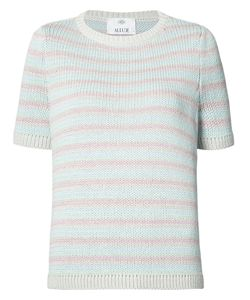 Allude | Stripe Knitted Top Size Medium