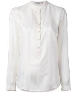 Stella Mccartney | Half-Placket Blouse 40 Silk