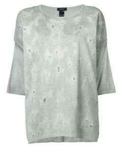 Avant Toi | Oversize Distressed Top
