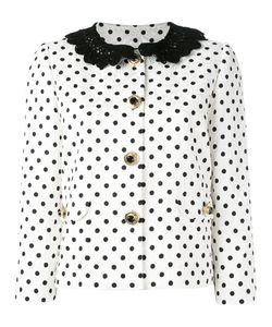 Dolce & Gabbana | Polka Dot Brocade Jacket 46