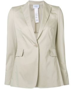 Akris Punto | Button Up Blazer 14 Cotton/Spandex/Elastane