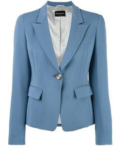 Emporio Armani | One Button Blazer 42 Viscose/Spandex/Elastane/Acetate/Polyester