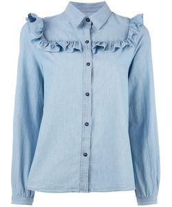 A.P.C. | Frill Shirt 40 Cotton