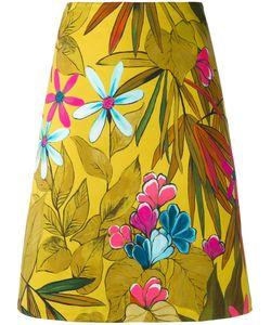 Eggs | Print A-Line Skirt