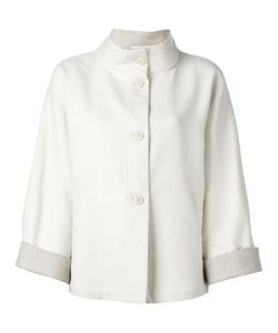 Eleventy | Button Up Jacket 44 Cashmere/Silk/Acetate/Polyester