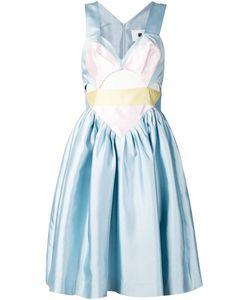 MINJUKIM | Расклешенное Платье С Вырезными Деталями