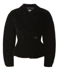 ANREALAGE | Oversized Velvet Jacket