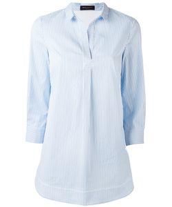 Piazza Sempione | Open Neck Striped Shirt 46