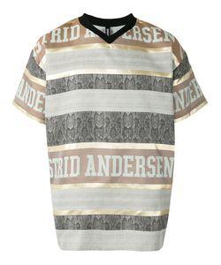 Astrid Andersen | Полосатая Футболка С Логотипом