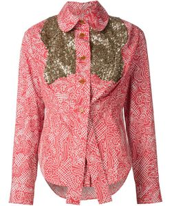 Vivienne Westwood Red Label | Рубашка С Панелями В Пайетках