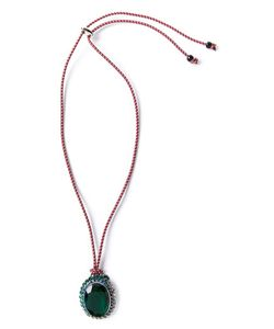 GABRIELE FRANTZEN | Embellished Pendant Necklace