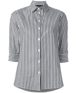 Federica Tosi | Striped Poplin Shirt Size Large