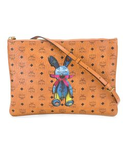 MCM | Rabbit Patch Cross Body Bag Cotton/Canvas