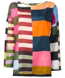 Odeeh | -Stripes Blouse 38 Silk
