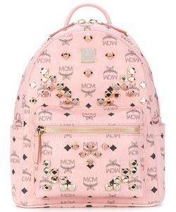 MCM | Start Monogram Backpack Women
