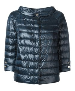 Herno | Three-Quarters Sleeve Puffer Jacket 50 Polyimide/Polyamide/Cotton/Feather Down