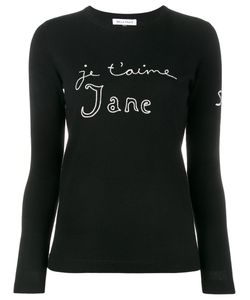 Bella Freud   Je Taime Jane Sweater Xs Wool