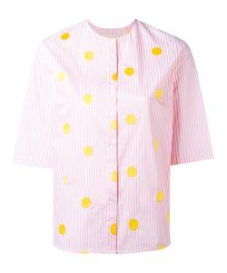 Elaidi | Spotted Stripe Shirt Size 36