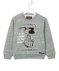 FINGER IN THE NOSE | Peanuts Printed Sweatshirt 10 Yrs