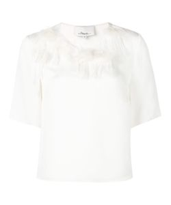 3.1 Phillip Lim | Peony Embroidered T-Shirt