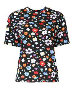 G.V.G.V.   Print T-Shirt Xs Polyurethane/Rayon