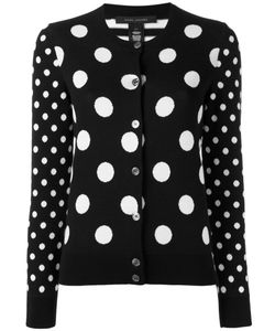 Marc Jacobs | Polka Dot Cardigan Large Cotton/Polyamide/Spandex/Elastane