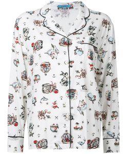 GUILD PRIME   Пижамная Рубашка С Морским Принтом