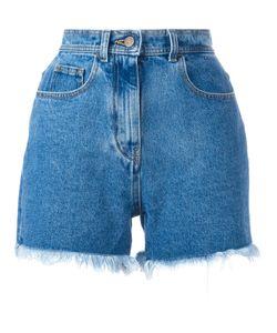 Philosophy di Lorenzo Serafini | Frayed Denim Shorts Size 44