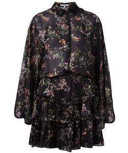 Alexis | Print Ruffled Dress Xs