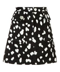 Adam Lippes | Jacquard Mini Skirt 4 Cotton/Acrylic/Polyester