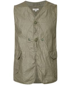 Engineered Garments   Pocket Waistcoat Size Medium