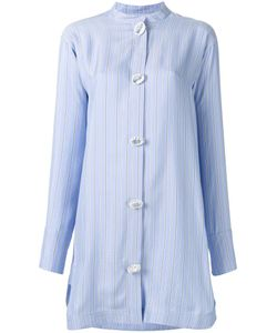 J.W. Anderson | J.W.Anderson Oversized Button Shirt Dress 6 Silk