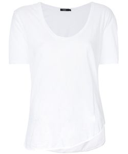 Bassike   Scoop Neck T-Shirt 10 Cotton