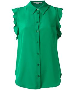 Stella Mccartney | Frill Blouse 42 Silk
