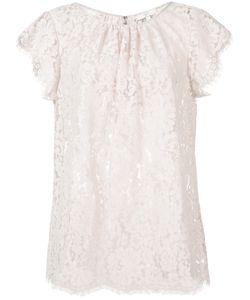 Joie | Lace Blouse Small Nylon/Cotton