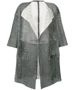 Giorgio Brato | Short-Sleeve Mesh Coat Size 42