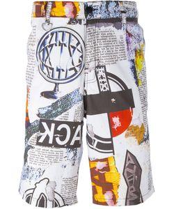 Ktz   Multi Print Shorts Size Large