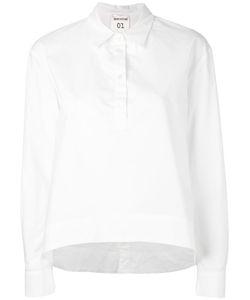 Semicouture | Рубашка С Закругленным Подолом