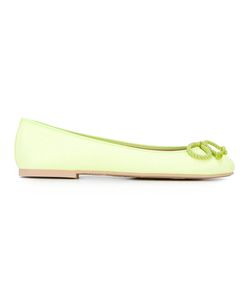 Pretty Ballerinas | Bow Detail Ballerinas 36 Leather/Polyamide/Rubber