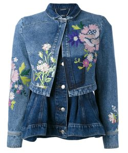 Alexander McQueen | Embroidered Denim Jacket