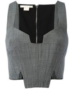 Antonio Berardi | Cropped Corset Top Size 40