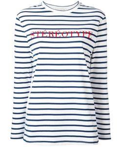 ÊTRE CÉCILE | Être Cécile Stéréotype Embroidery T-Shirt Xs Cotton