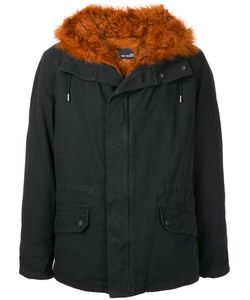 YVES SALOMON HOMME | Fur Lined Zip-Up Parka Men