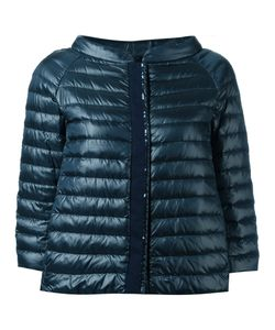 Herno | Collarless Down Jacket 44 Polyamide/Polyester/Feather Down