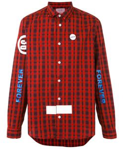 SOLD OUT FRVR | Printed Checked Shirt