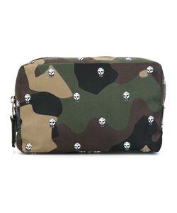 Alexander McQueen | Skull Camouflage Wash Bag Nylon